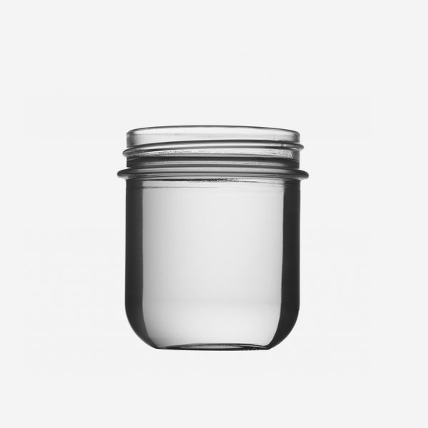 VITA jar 220ml, white, finish: Twister70